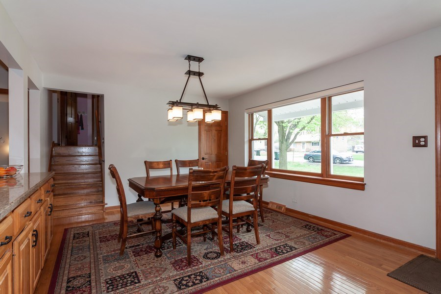 Real Estate Photography - 1S155Myrtle Avenue, Oakbrook Terrace, IL, 60181 - Dining Area