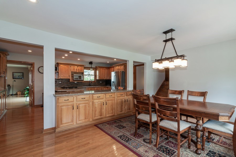 Real Estate Photography - 1S155Myrtle Avenue, Oakbrook Terrace, IL, 60181 - Kitchen / Living Room