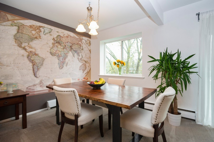 Real Estate Photography - 2315 E Olive, 3C, Arlington Heights, IL, 60004 - Dining Room
