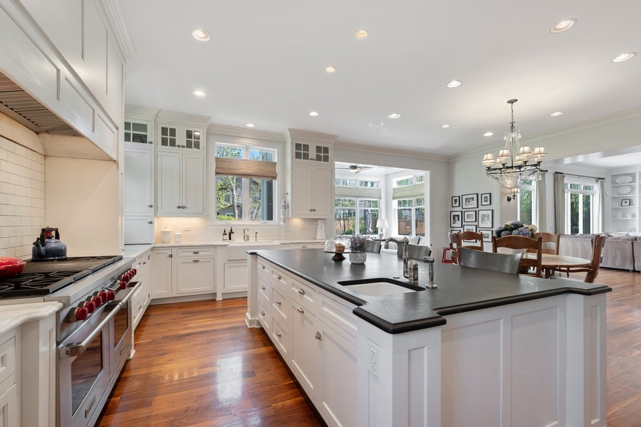 Real Estate Photography - 1549 Stratford Road, Deerfield, IL, 60015 - Kitchen