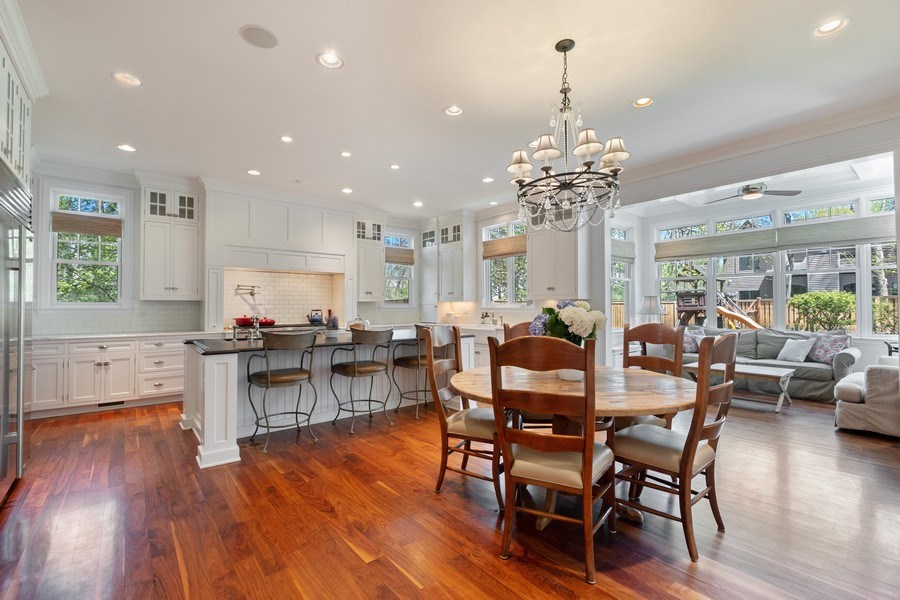 Real Estate Photography - 1549 Stratford Road, Deerfield, IL, 60015 - Kitchen / Eating Area