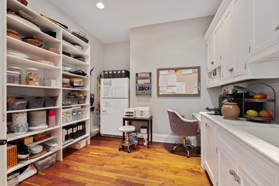 Real Estate Photography - 1549 Stratford Road, Deerfield, IL, 60015 - Walk-in Pantry