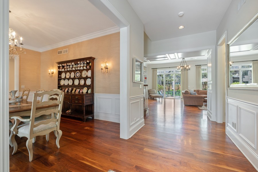 Real Estate Photography - 1549 Stratford Road, Deerfield, IL, 60015 - Foyer