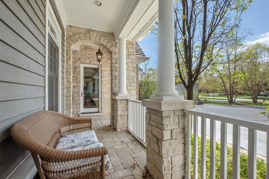 Real Estate Photography - 1549 Stratford Road, Deerfield, IL, 60015 - Front Porch