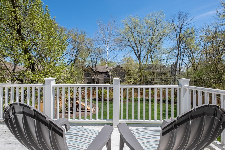 Real Estate Photography - 1549 Stratford Road, Deerfield, IL, 60015 - Balcony
