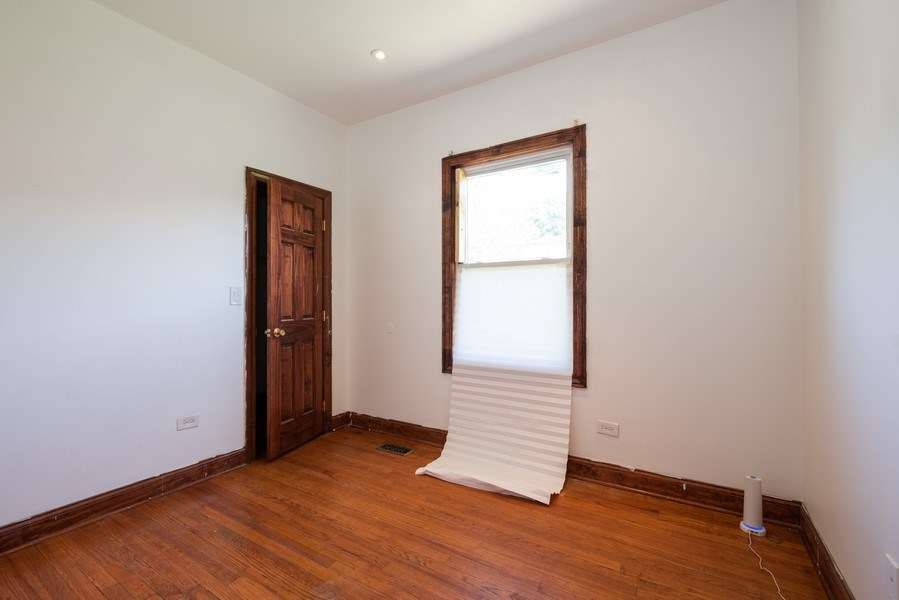 Real Estate Photography - 7633 S Dobson, Chicago, IL, 60619 - Bedroom