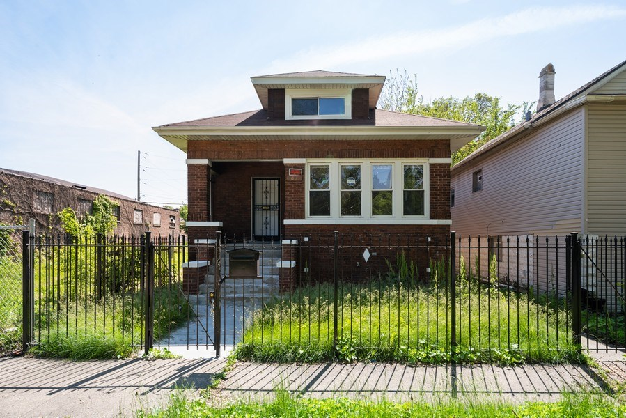 Real Estate Photography - 7633 S Dobson, Chicago, IL, 60619 - Front View