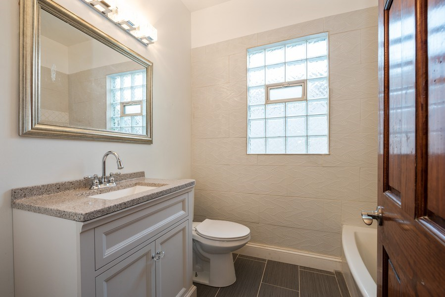 Real Estate Photography - 7633 S Dobson, Chicago, IL, 60619 - Bathroom