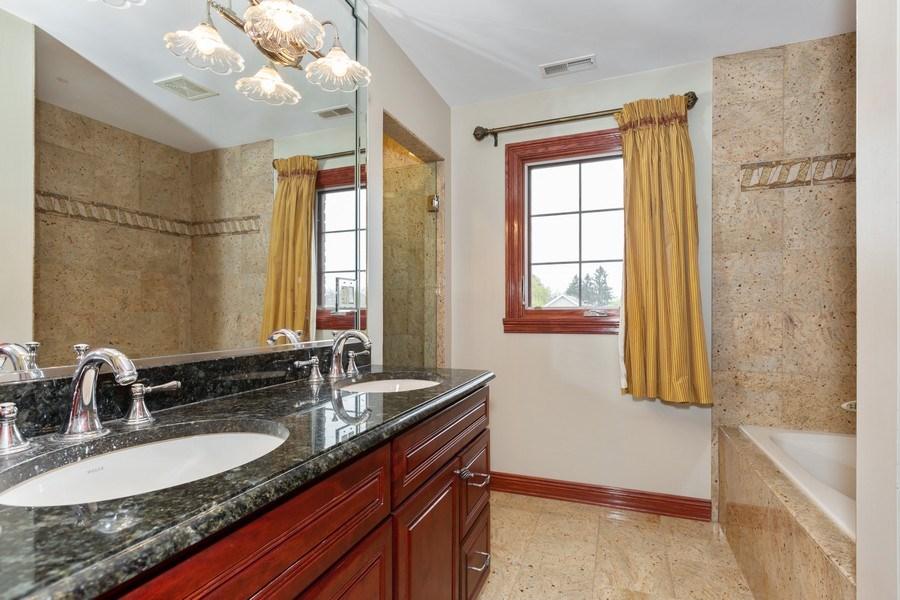 Real Estate Photography - 8179 Wolf Road, La Grange, IL, 60525 - 3rd Bathroom
