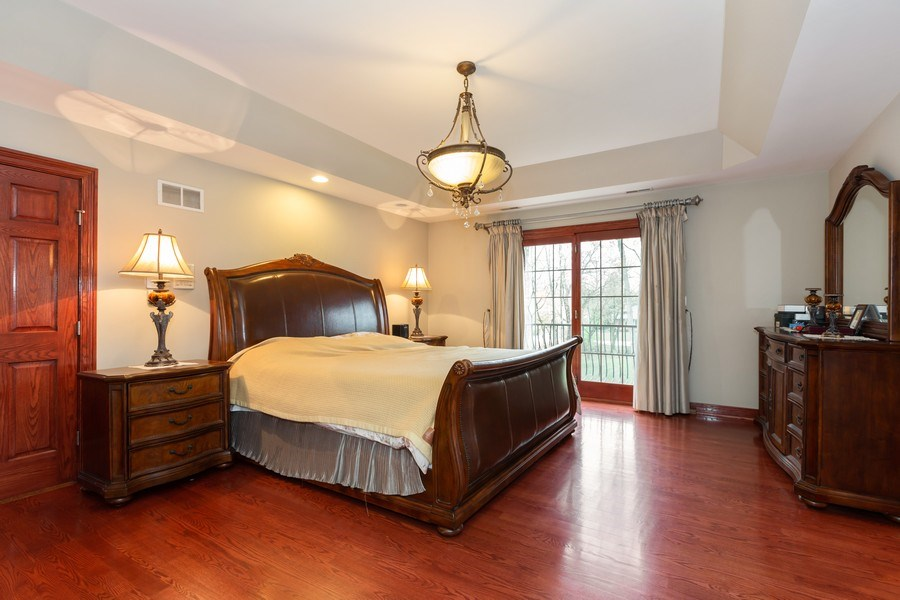 Real Estate Photography - 8179 Wolf Road, La Grange, IL, 60525 - Master Bedroom