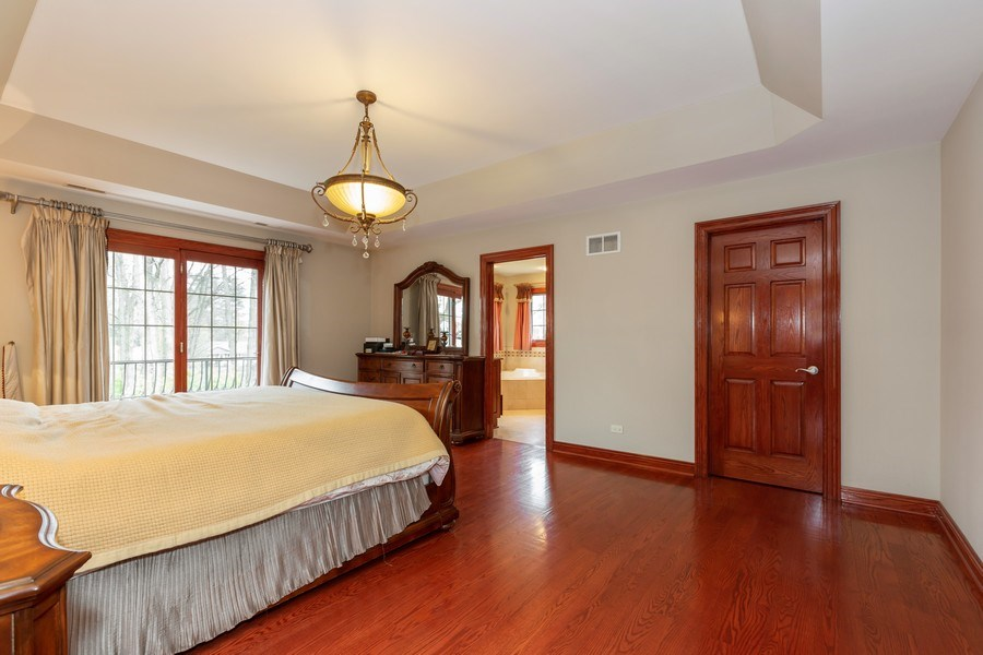 Real Estate Photography - 8179 Wolf Road, La Grange, IL, 60525 - Master Bedroom