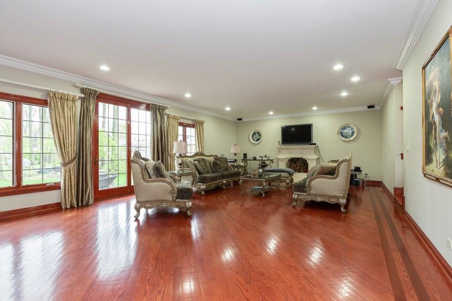 Real Estate Photography - 8179 Wolf Road, La Grange, IL, 60525 - Family Room