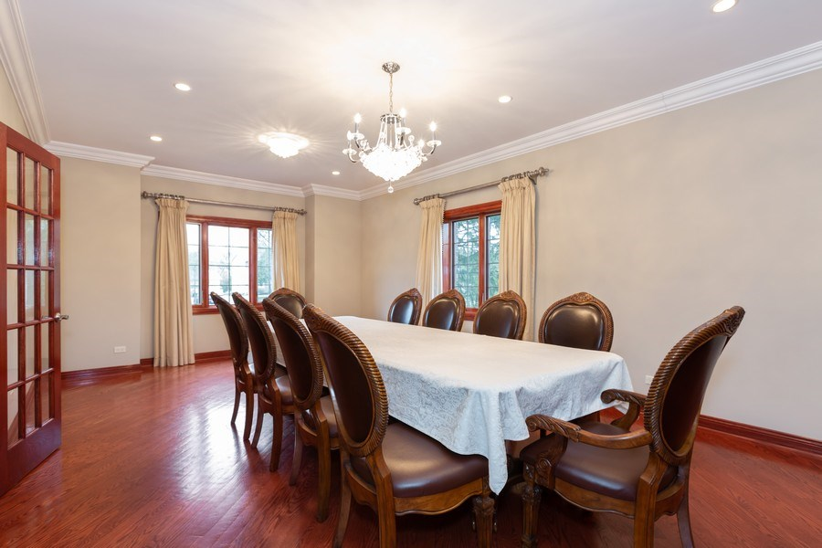 Real Estate Photography - 8179 Wolf Road, La Grange, IL, 60525 - Dining Room