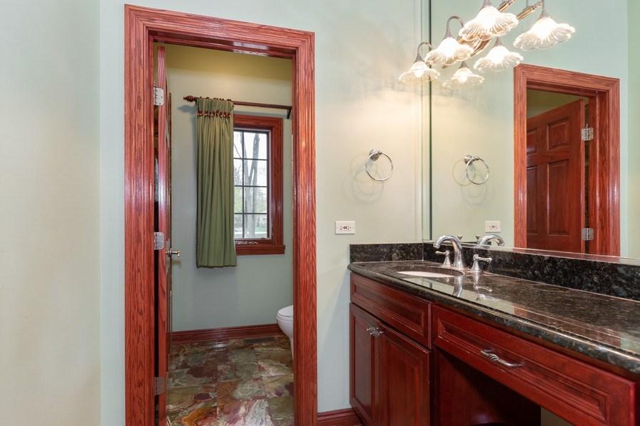 Real Estate Photography - 8179 Wolf Road, La Grange, IL, 60525 - 2nd Bathroom