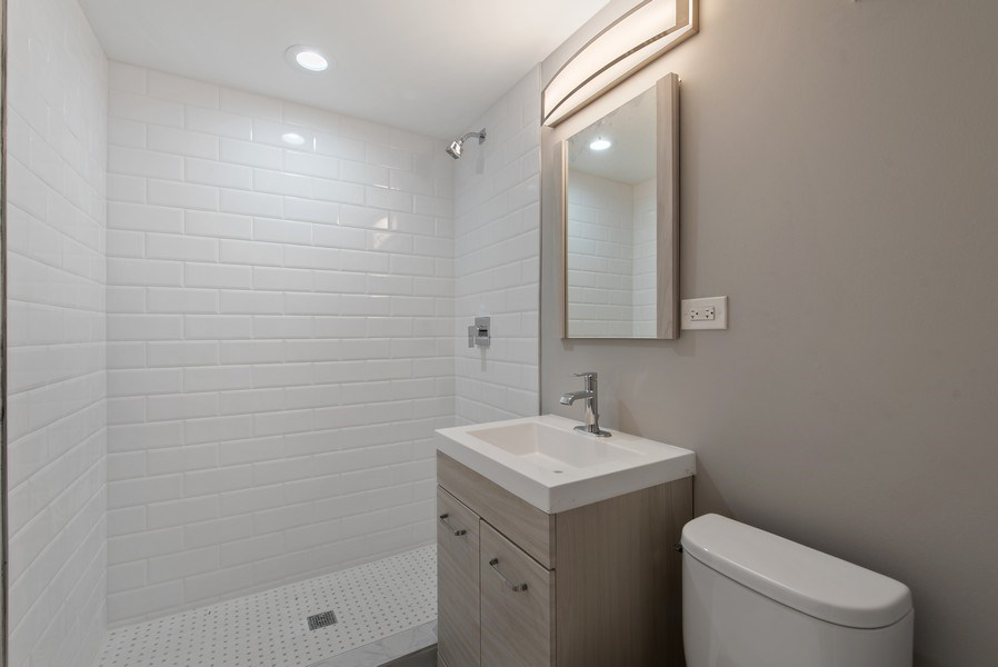 Real Estate Photography - 13 Stacy Ct, Glenview, IL, 60025 - 4th Bathroom