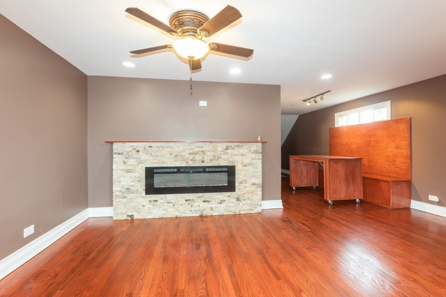 Real Estate Photography - 8632 South Marquette Avenue, Chicago, IL, 60617 - Living Room