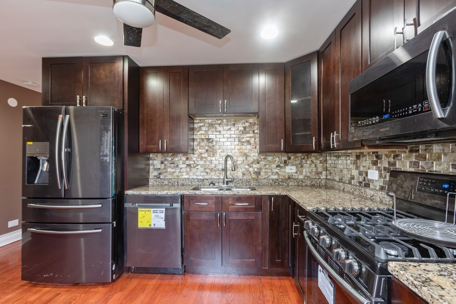 Real Estate Photography - 8632 South Marquette Avenue, Chicago, IL, 60617 - Kitchen