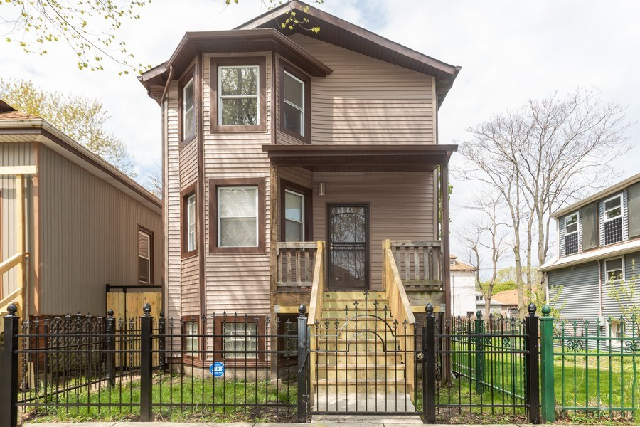 Real Estate Photography - 8632 South Marquette Avenue, Chicago, IL, 60617 - Front View