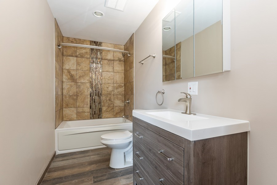 Real Estate Photography - 8632 South Marquette Avenue, Chicago, IL, 60617 - Bathroom