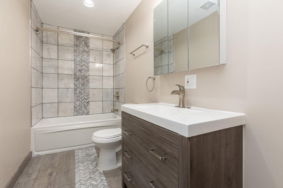 Real Estate Photography - 8632 South Marquette Avenue, Chicago, IL, 60617 - 2nd Bathroom
