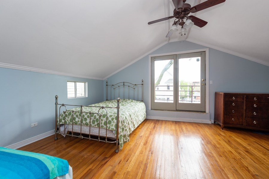 Real Estate Photography - 1620 N Troy St, Chicago, IL, 60647 - Bedroom