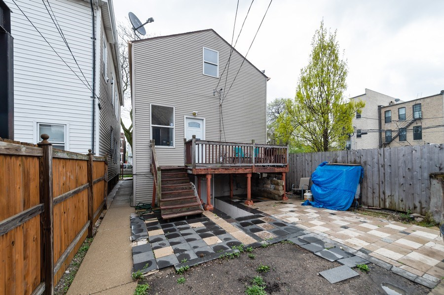 Real Estate Photography - 1620 N Troy St, Chicago, IL, 60647 - Back Yard
