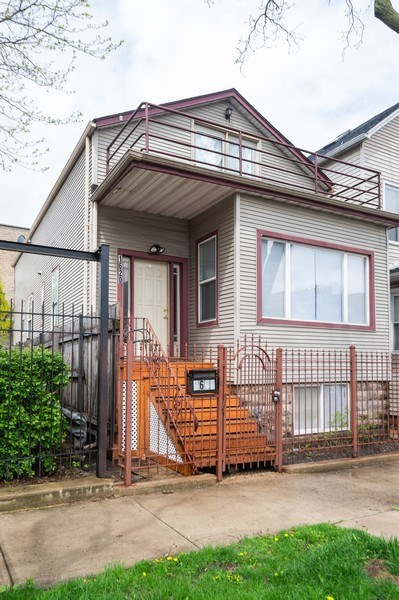 Real Estate Photography - 1620 N Troy St, Chicago, IL, 60647 - Front View