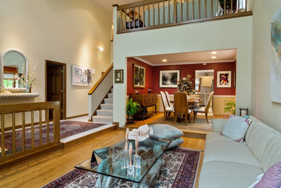 Real Estate Photography - 2451 Walden Ln, Arlington Heights, IL, 60004 - Living Room