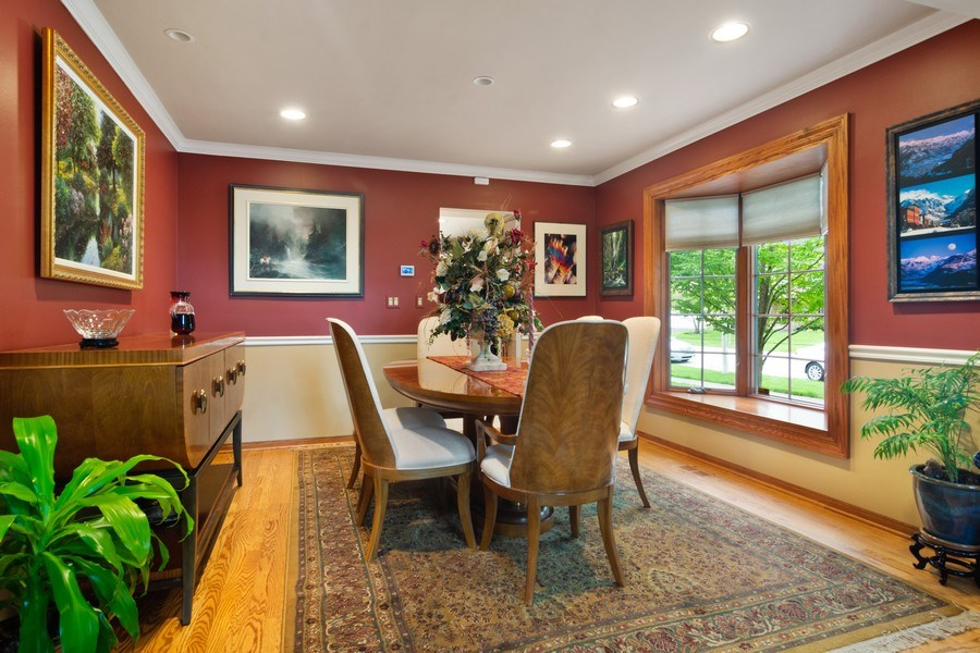 Real Estate Photography - 2451 Walden Ln, Arlington Heights, IL, 60004 - Dining Room