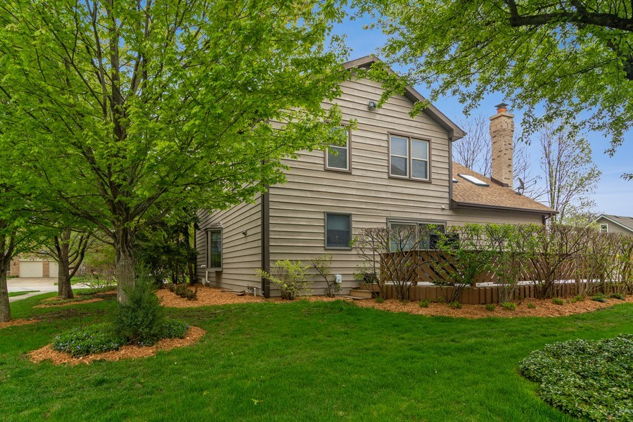 Real Estate Photography - 2451 Walden Ln, Arlington Heights, IL, 60004 - Rear View
