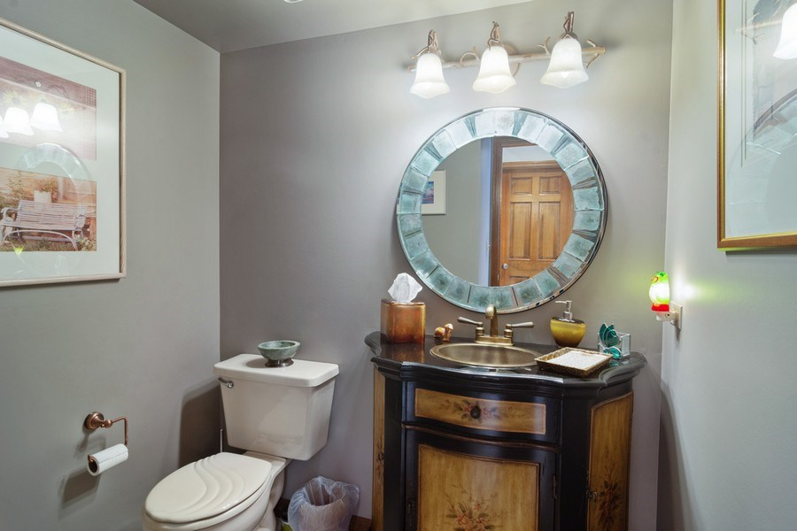 Real Estate Photography - 2451 Walden Ln, Arlington Heights, IL, 60004 - Half Bath