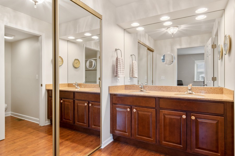 Real Estate Photography - 708 Orleans Dr, Highland Park, IL, 60035 - Master Bathroom