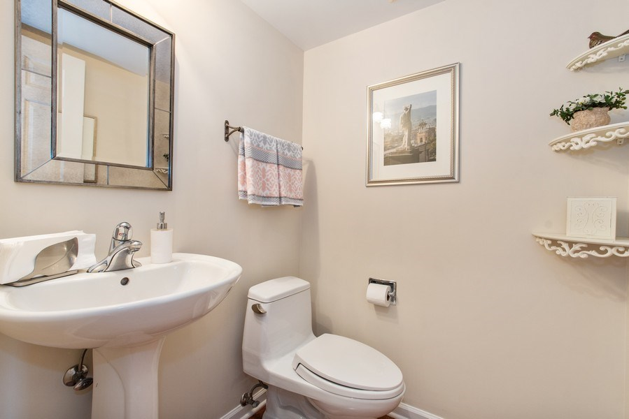 Real Estate Photography - 708 Orleans Dr, Highland Park, IL, 60035 - Power Room - First Level