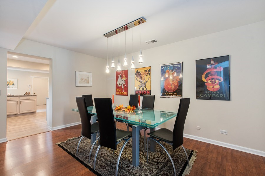 Real Estate Photography - 708 Orleans Dr, Highland Park, IL, 60035 - Dining Room
