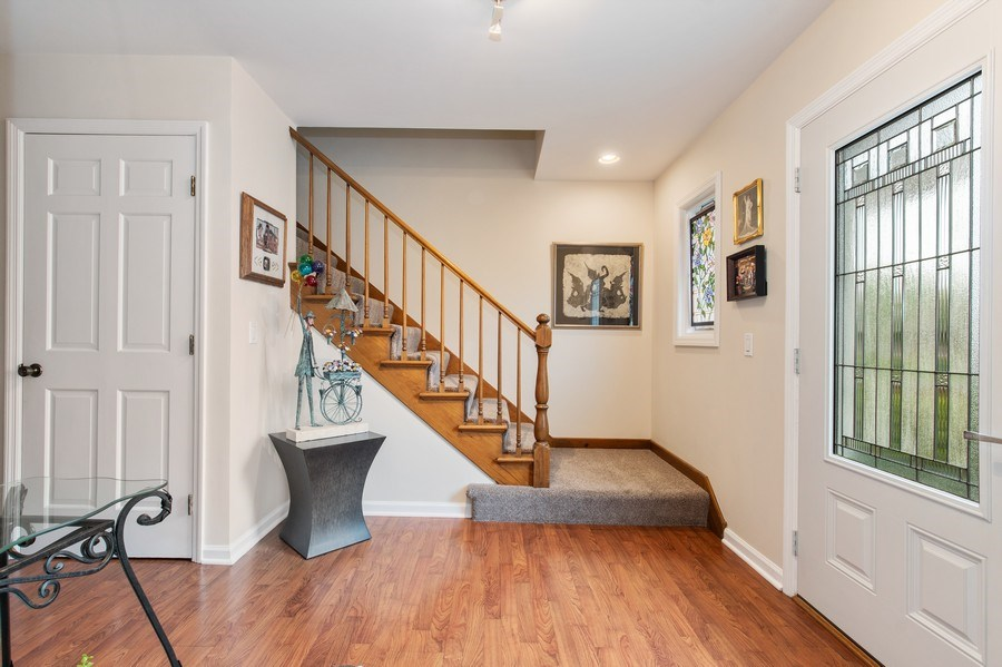 Real Estate Photography - 708 Orleans Dr, Highland Park, IL, 60035 - Foyer