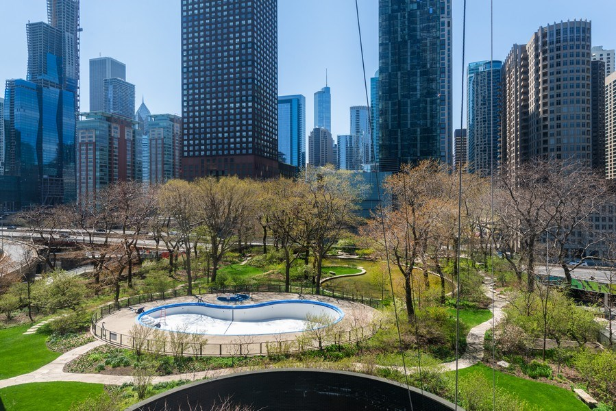 Real Estate Photography - 505 N Lakeshore Drive, Unit 602, Chicago, IL, 60611 - View