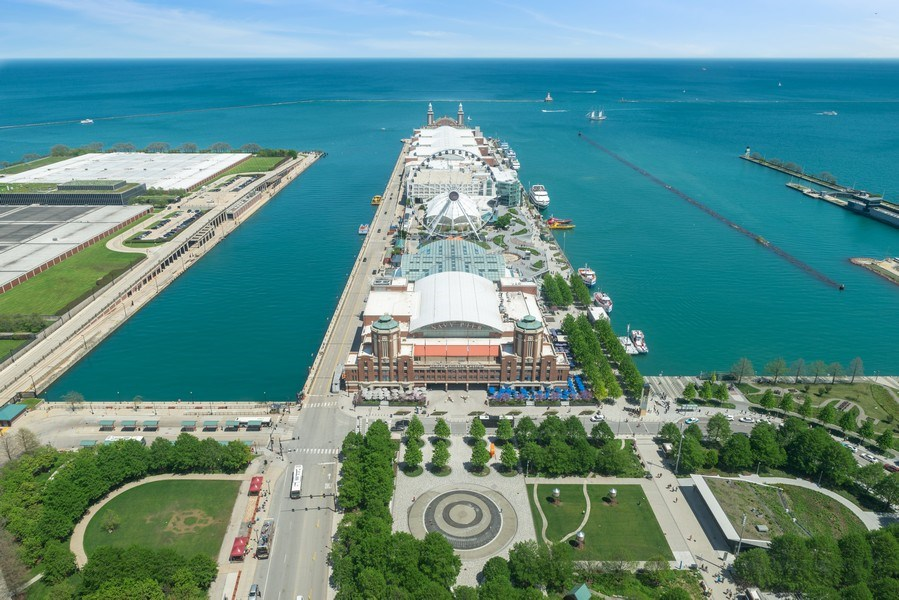 Real Estate Photography - 505 N Lakeshore Drive, Unit 4303, Chicago, IL, 60611 - View