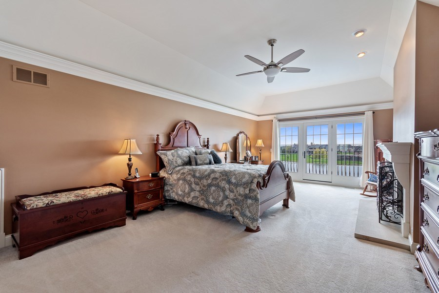Real Estate Photography - 39W165 Longmeadow Ln, St. Charles, IL, 60175 - Master Bedroom