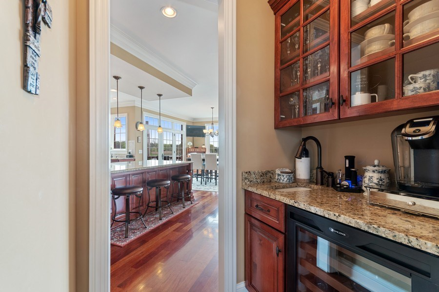 Real Estate Photography - 39W165 Longmeadow Ln, St. Charles, IL, 60175 - Butler's pantry