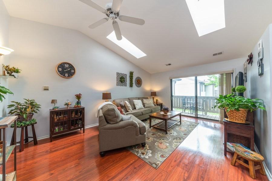 Real Estate Photography - 4120 N Mallard Drive, Unit 4, Arlington Heights, IL, 60004 - Living Room