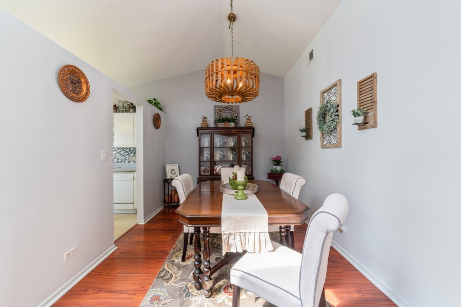 Real Estate Photography - 4120 N Mallard Drive, Unit 4, Arlington Heights, IL, 60004 - Dining Room