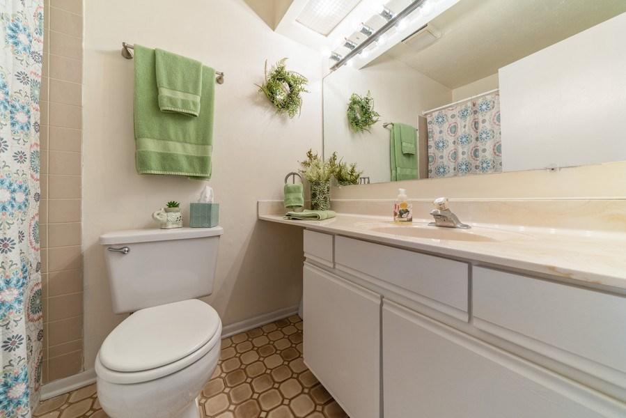 Real Estate Photography - 4120 N Mallard Drive, Unit 4, Arlington Heights, IL, 60004 - Bathroom