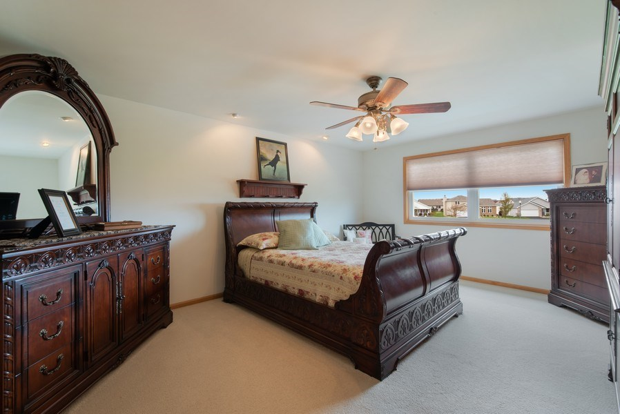 Real Estate Photography - 265 Mallards Cove, Beecher, IL, 60401 - Master Bedroom