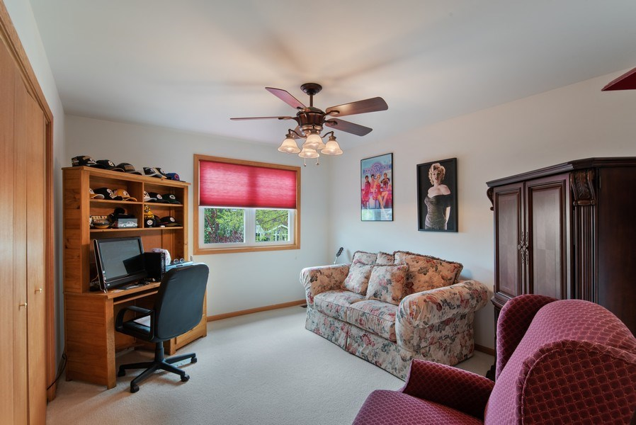 Real Estate Photography - 265 Mallards Cove, Beecher, IL, 60401 - 2nd Bedroom