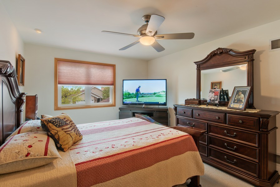 Real Estate Photography - 265 Mallards Cove, Beecher, IL, 60401 - 3rd Bedroom