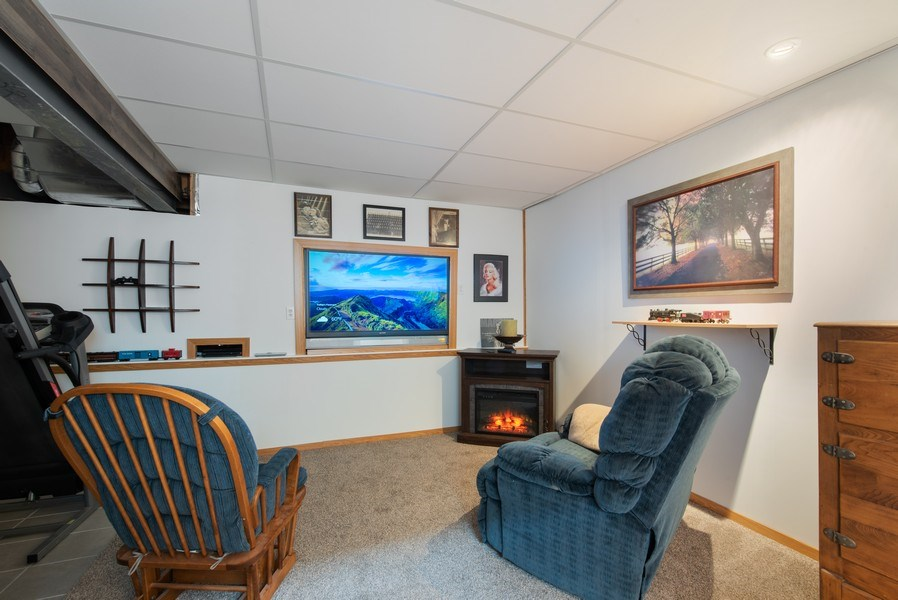 Real Estate Photography - 265 Mallards Cove, Beecher, IL, 60401 - Lower Level