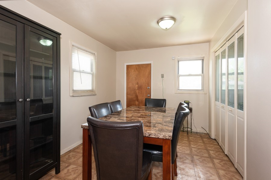 Real Estate Photography - 2N047 Edgewood Ave, Lombard, IL, 60148 - Dining Room