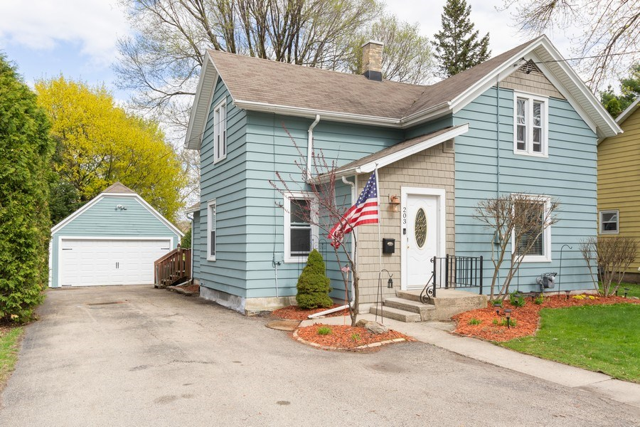 Real Estate Photography - 203 Wayland Street, Beaver Dam, WI, 53916 - Front View