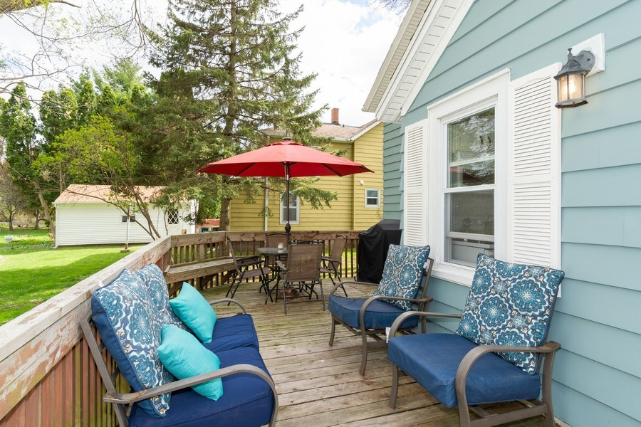 Real Estate Photography - 203 Wayland Street, Beaver Dam, WI, 53916 - Deck