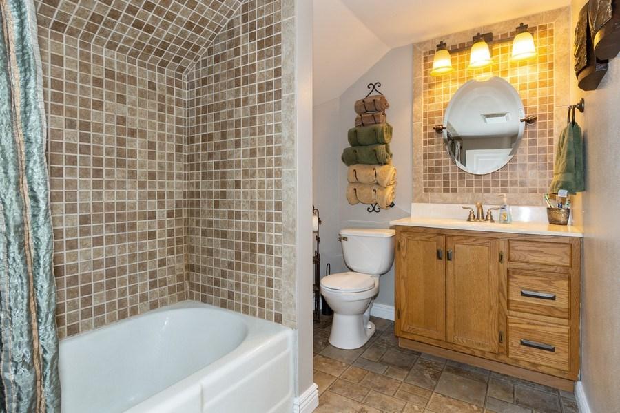 Real Estate Photography - 203 Wayland Street, Beaver Dam, WI, 53916 - Bathroom